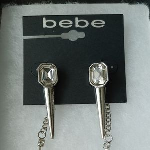 BNIP Bebe spikey earrings